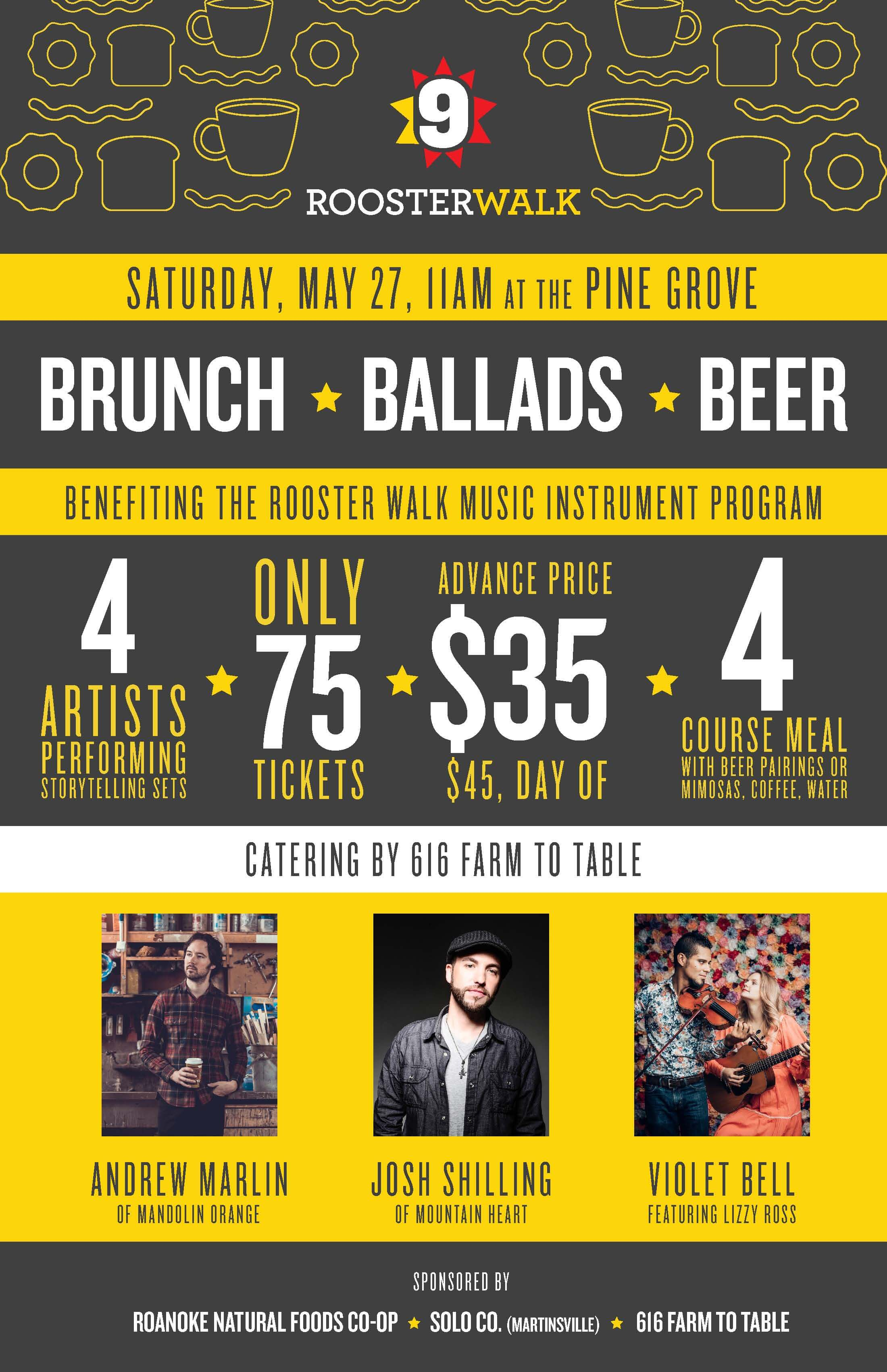 Photo of Brunch, Ballads & Beer
