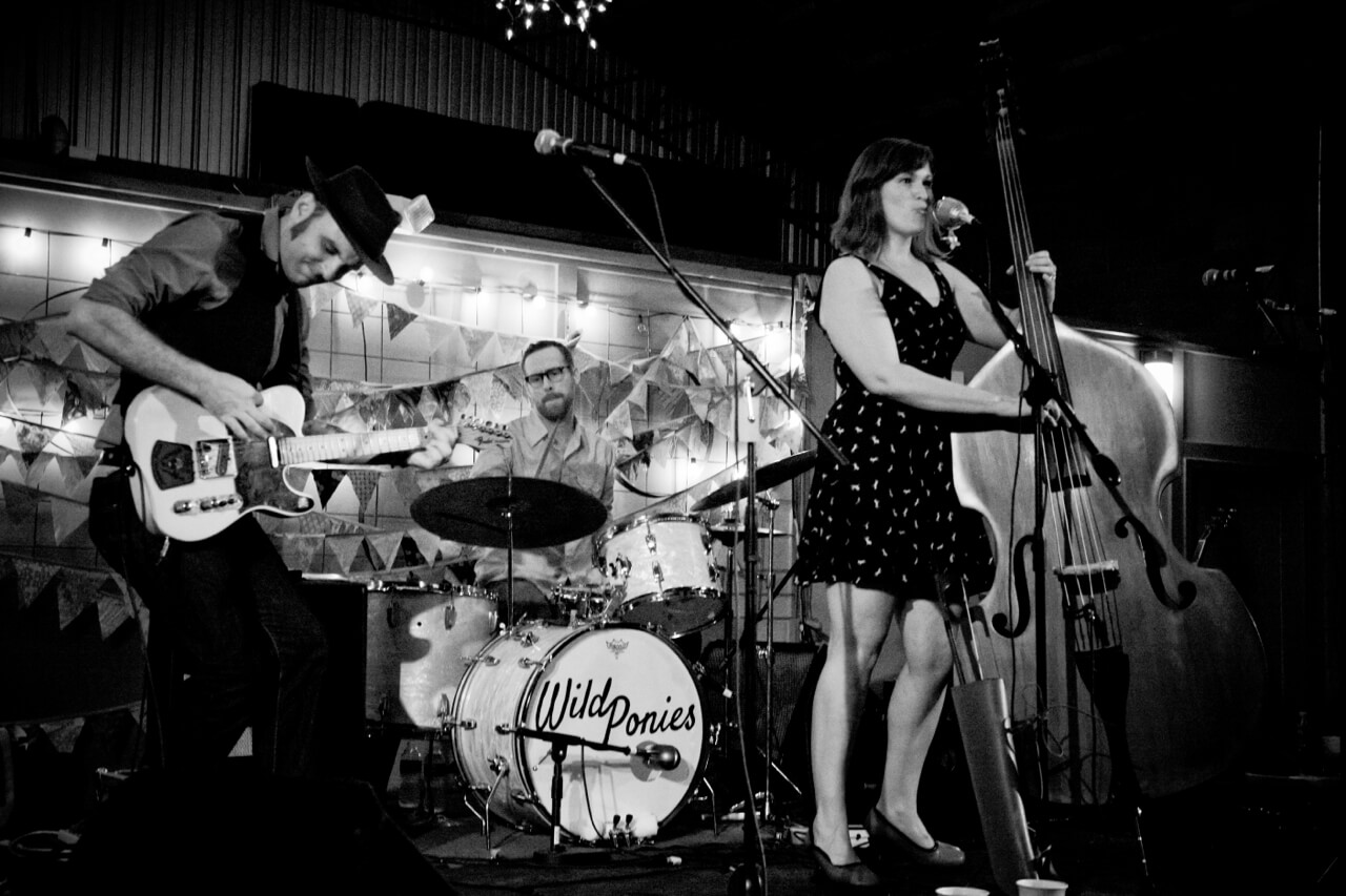 Photo of Wild Ponies - Oct. 13th - Rives Theatre