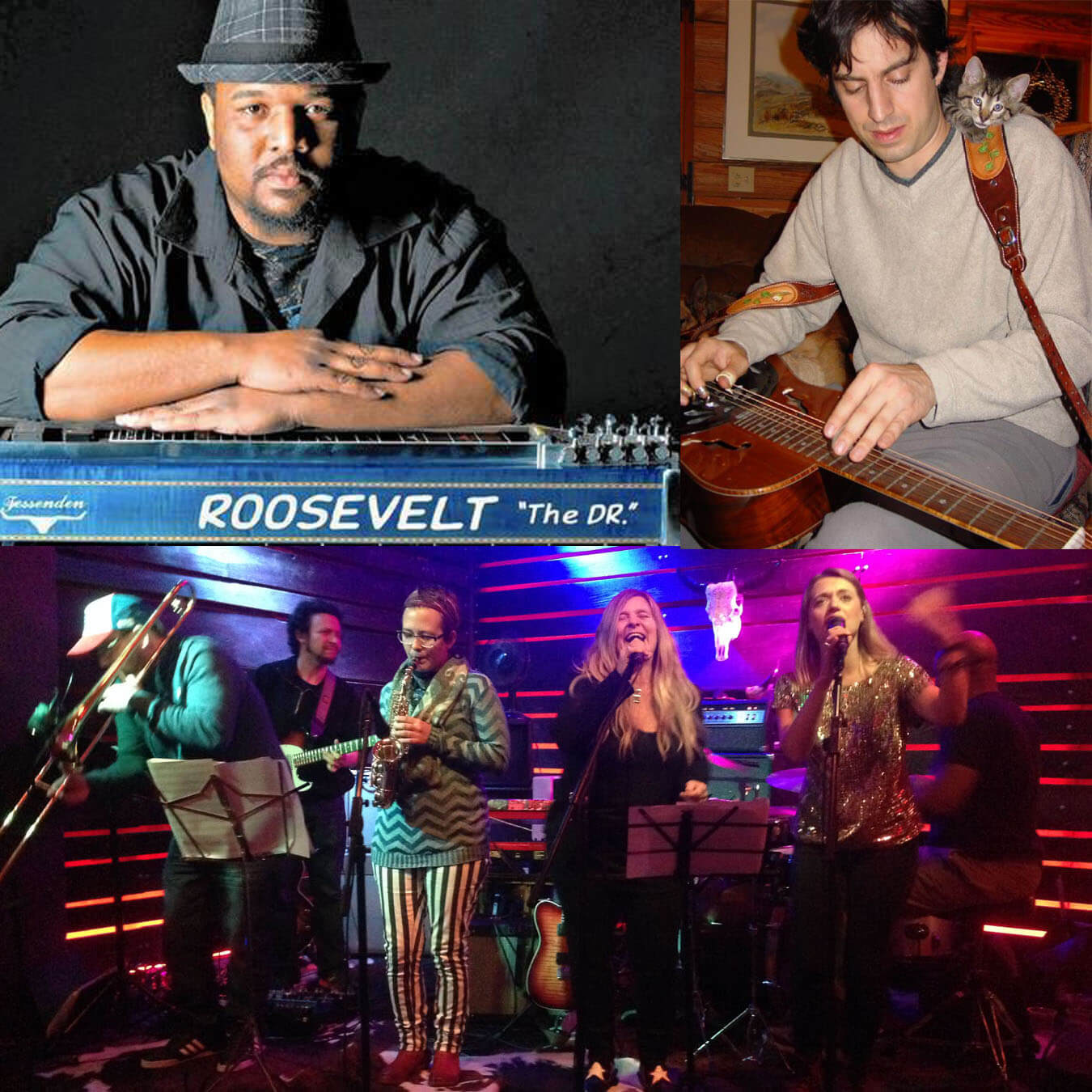 Photo of Camel City Collective feat. Roosevelt Collier & Billy Cardine - March 16 - Rives