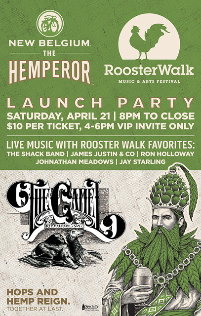 Photo of Hemp Rooster - April 21 - The Camel (in Richmond)