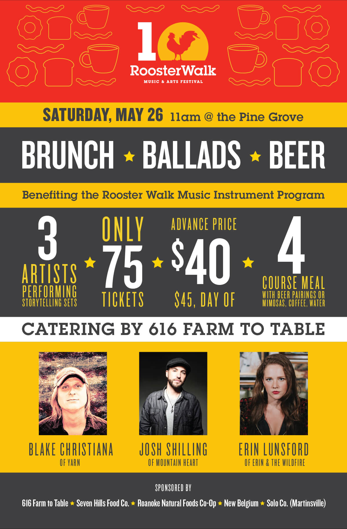 Photo of SOLD OUT: Brunch, Ballads & Beer