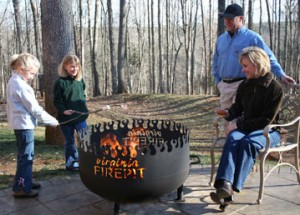 Virginia Fire Pit