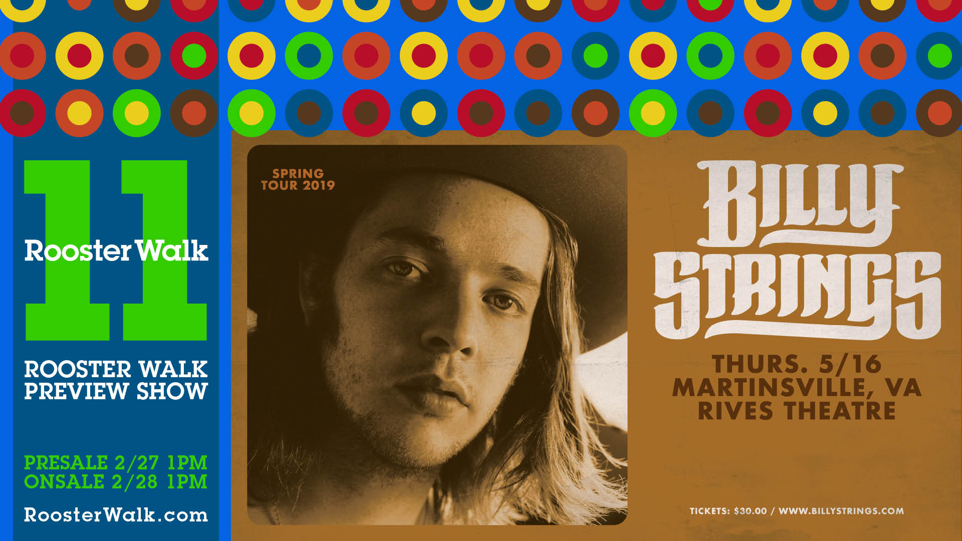Photo of SOLD OUT - Billy Strings - May 16 - Rives